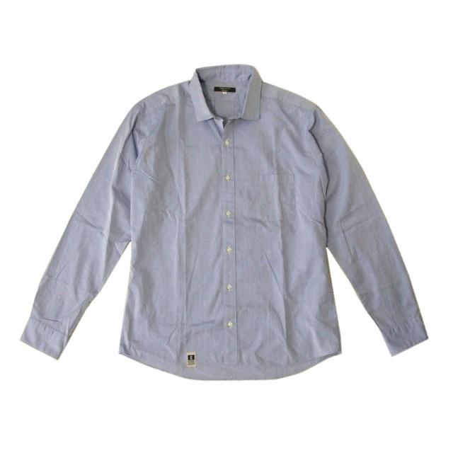 ORIHICA オリヒカ「L」定番カッターシャツ (ブル...