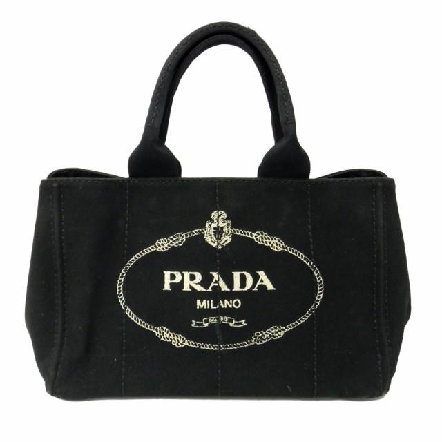 PRADA プラダ 黒 カナパトートバッグ (BN1877) 10...