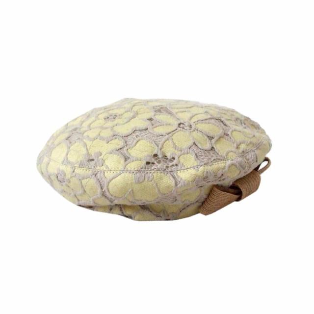 culthat カルトハット フラワーレースベレー帽 (...