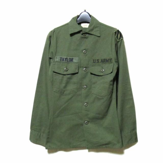U.S APMY 米軍 コンバットシャツ (カーキ アーミ...