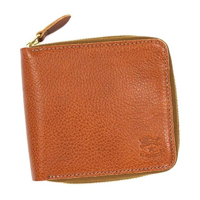 1c14c09905ed イルビゾンテ IL BISONTE 財布 メンズ カードケース レザー C0935 二つ折り財布 本革 小銭入れ