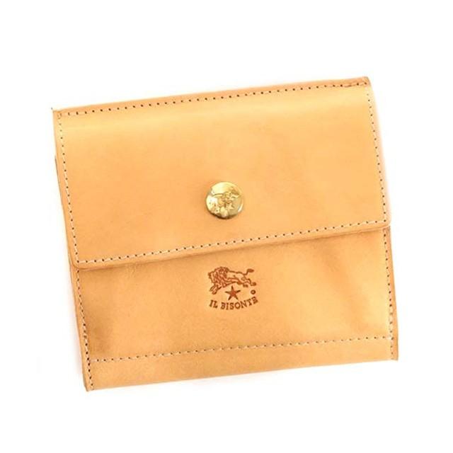 イル ビゾンテ 二つ折り財布 メンズ 財布 おしゃ...