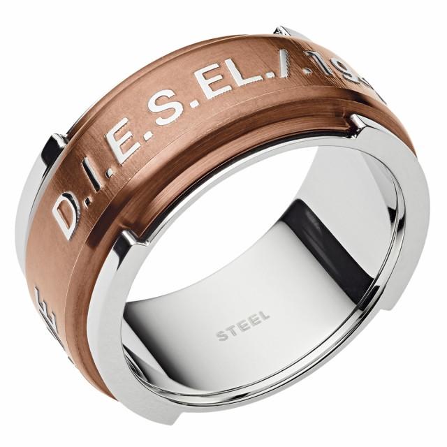 ディーゼル DIESEL 指輪 DX1097040 ロゴ メンズ ...