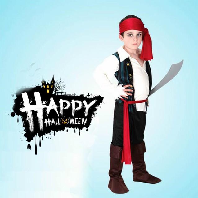 2点以上送料無料 子供用 海賊 コスプレ衣装 ハロ...
