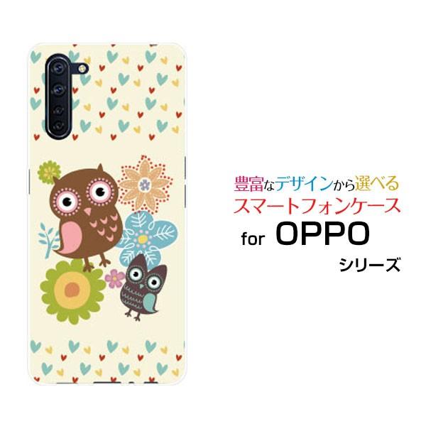 OPPO Reno3 A ハードケース/TPUソフトケース ふく...