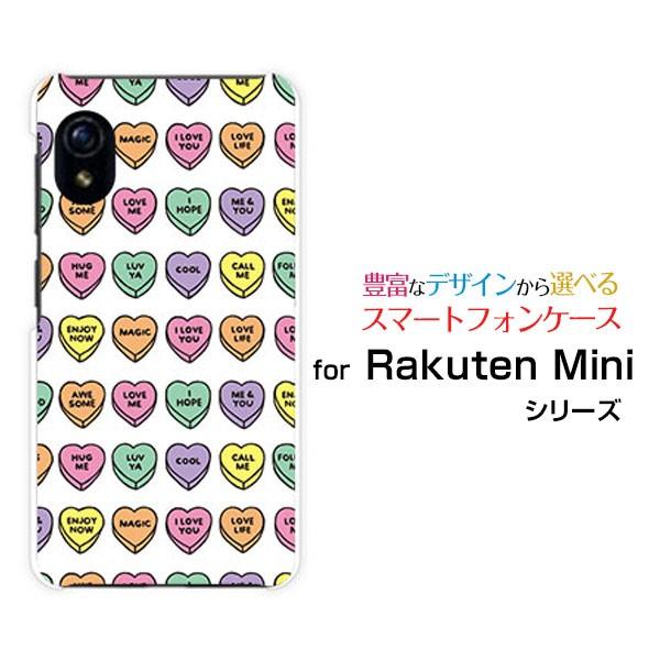 ガラスフィルム付 Rakuten Mini [Rakuten] ハード...