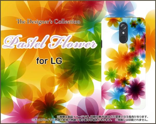 LG style [L-03K] docomo TPU ソフト ケース 花柄...
