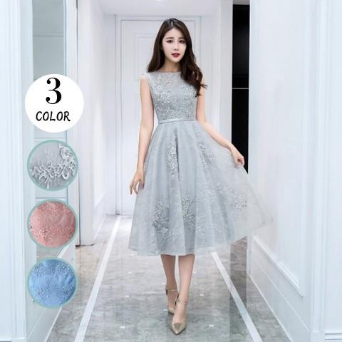 e3c0fd8e20886 パーティードレス 結婚式 二次会 ワンピース 結婚式ドレス お呼ばれ ...