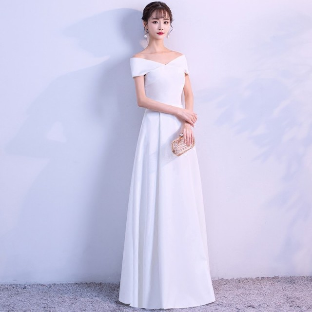 ウェディングドレス 大きいサイズ 3L 4L 花嫁 二...