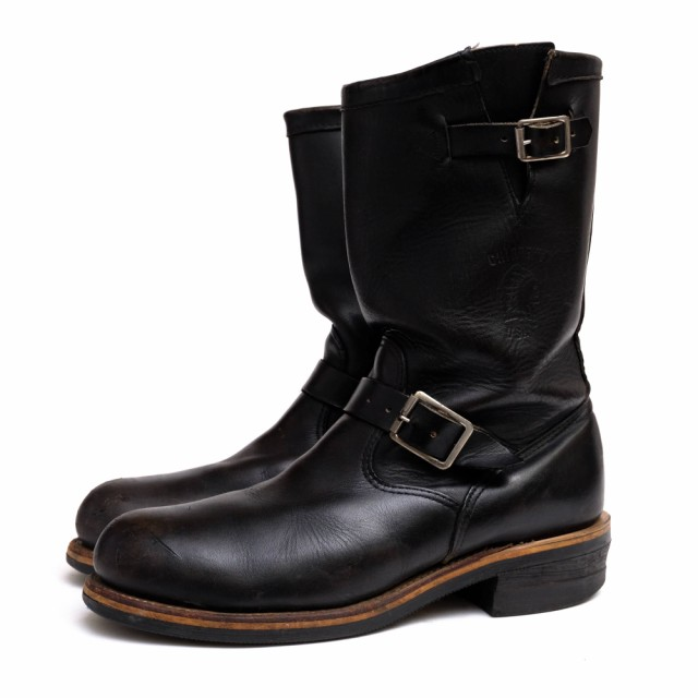"○チペワ CHIPPEWA 27899 11"" ENGINEER BOOTS BLA..."