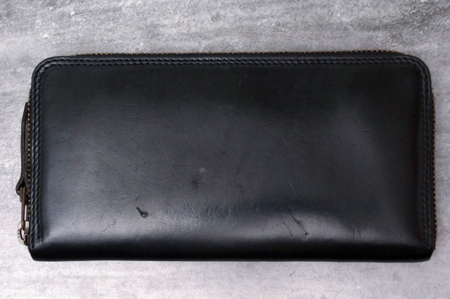 ○モト MOTO Long Wallet with Zipper FW1 ラウン...