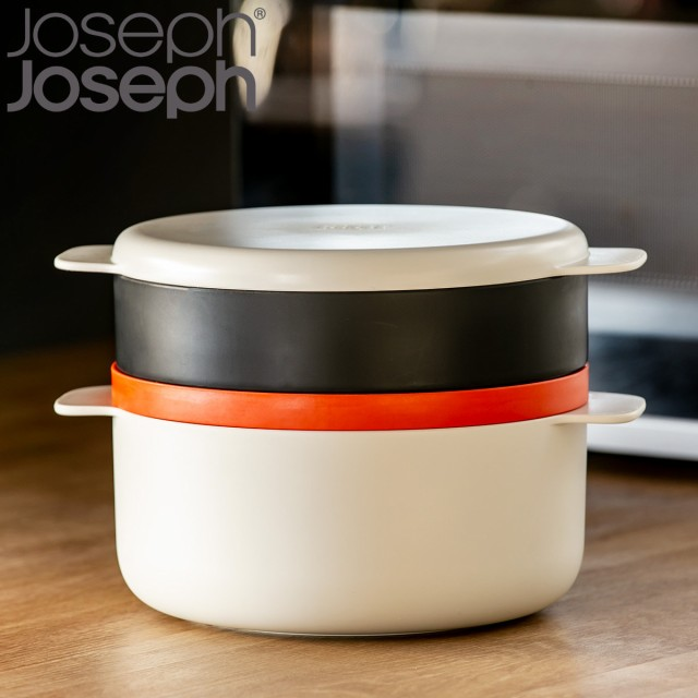 Joseph Joseph ジョゼフジョゼフ M-クイジーン 電子レンジ 4ピーススタッカブルクッキングセット ( 送料無料 電子レンジ対応 調理器