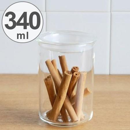 キントー KINTO 保存容器 Cast ガラスリッドキャニスター 深型 M 340ml ( 耐熱ガラス 食品保存 密閉 キッチン用品 キッチン収納