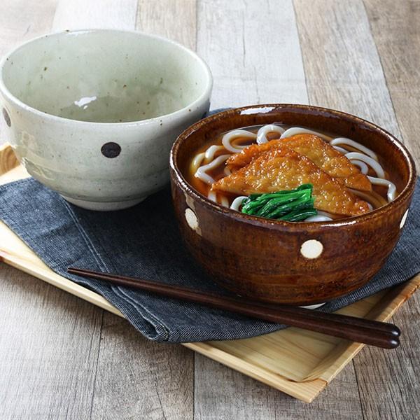 どんぶり ドット丼 L 16cm 食器 丼 陶器 日本製
