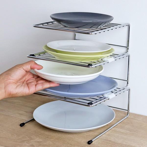 食器ラック キッチンストレージ ディッシュラック S ( 食器収納棚 皿収納 食器立て 皿立て 食器収納 皿収納 食器整理 皿整理 食器棚収納