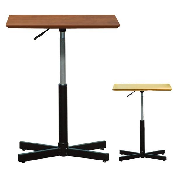 角テーブル ブランチヘキサテーブル 昇降式