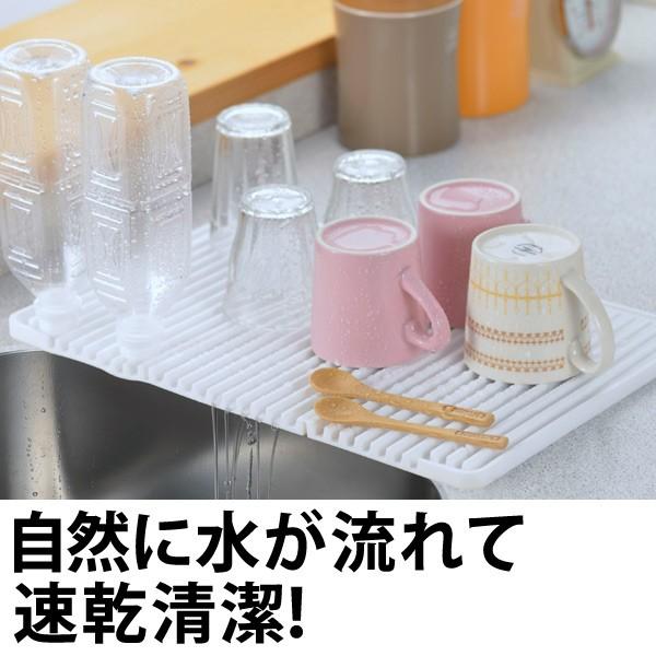 水切りマット シリコン水切りマット ワイド シリコン製の通販はWowma ...