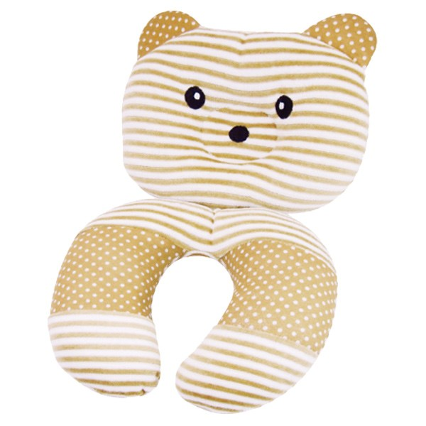 ネックピロー くまさんネック&ピロー ( ベビー枕 枕 キッズ 2way かわいい 子供 枕 ネッククッション クッション 旅行 ベビー用品 )