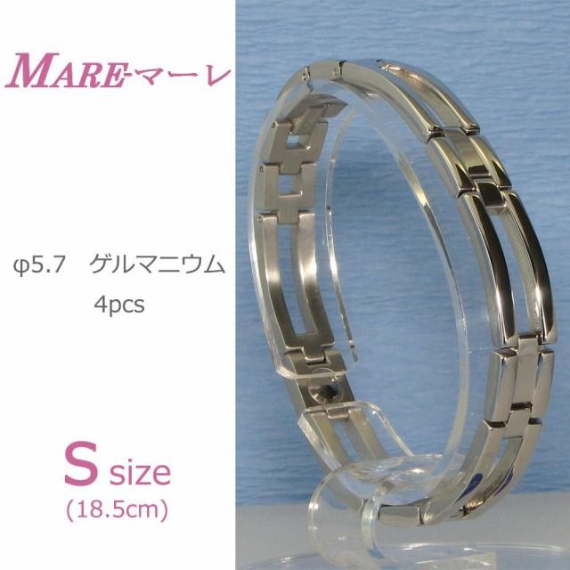 MARE(マーレ) ゲルマニウム4個付ブレスレット PT/...