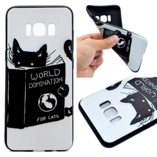 Galaxy S8 ソフトケース I 強化ガラス保護フィル...
