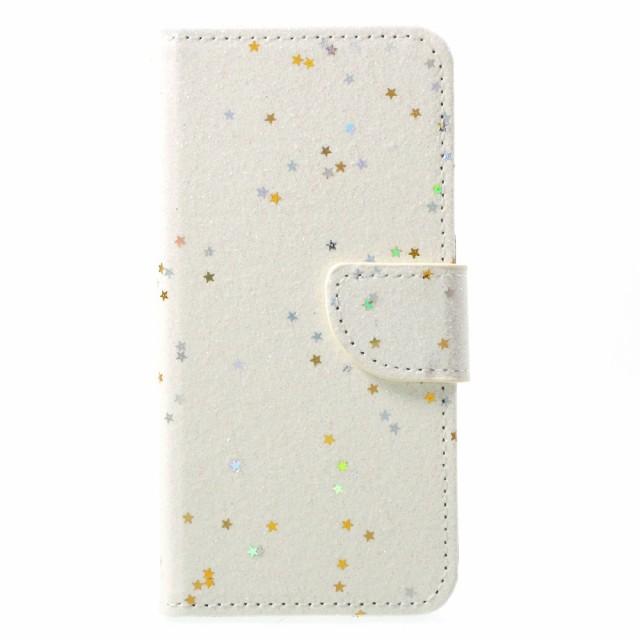 iPhone X レザーケース ホワイト 強化ガラス保護...
