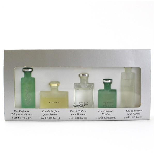 ブルガリ 香水 ミニボトル5本セット 5本×5ml 中...