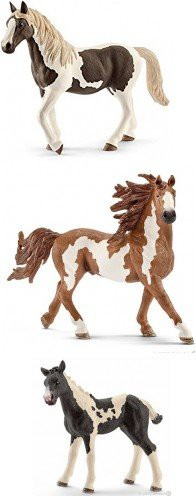 Schleich Pint Horse Family of 3 Horses (13794 ...