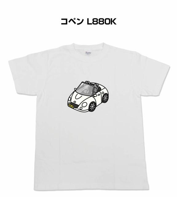 MKJP かわカッコいい Tシャツ ダイハツ コペン L8...