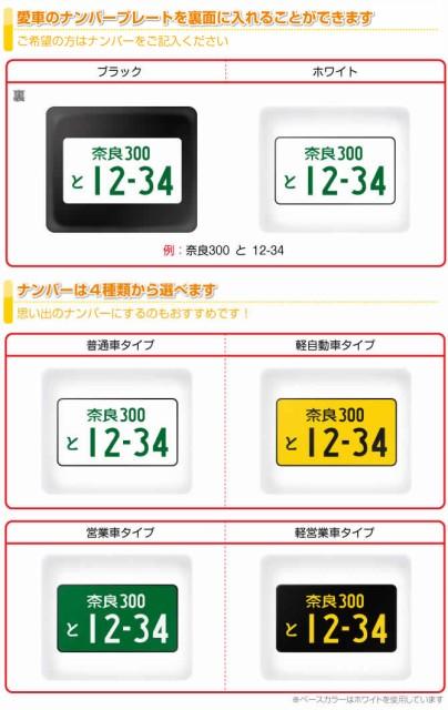 MKJP キーホルダー用 ナンバーを入れる【購入時...