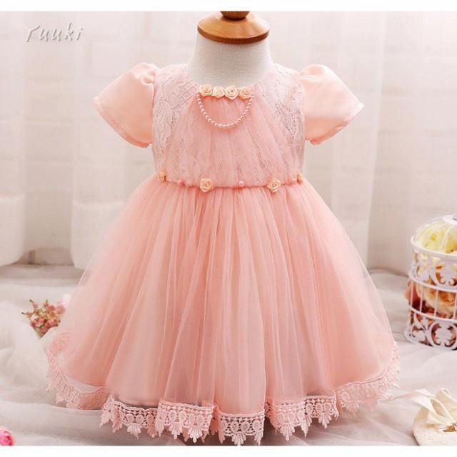 ベビードレス 結婚式 60 70 80 赤ちゃん ドレス セレモニー