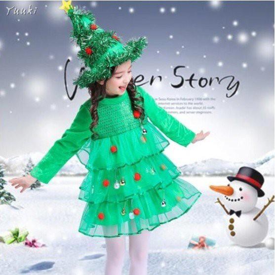 サンタ コスプレ クリスマスツリー 衣装 子供 サ...