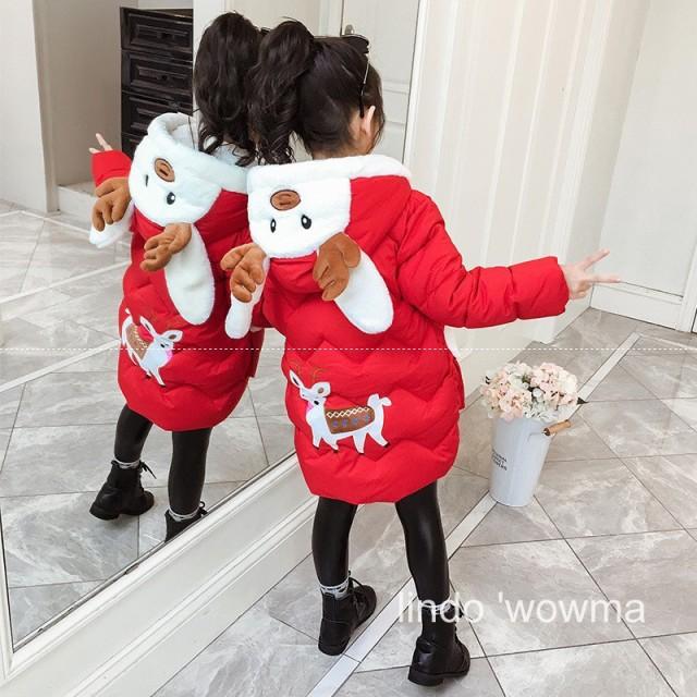 子供 冬 新品 中綿コート 女の子 大人かわいい 着...