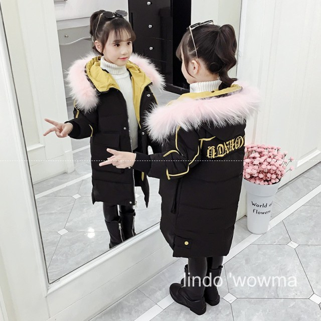 子供 中綿コート冬 新品 女の子 大人かわいい カ...