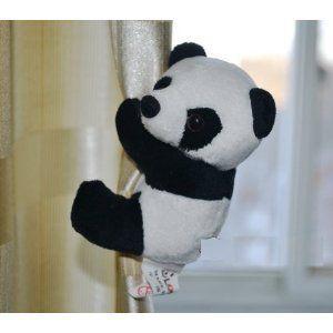 カーテンタッセル パンダ かわいい 2個セット