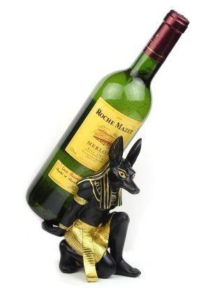 ワインホルダー エジプト アヌビス