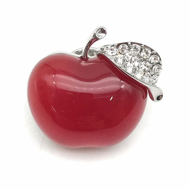 【お取り寄せ】ピンバッジ りんご 宝石のようなド...
