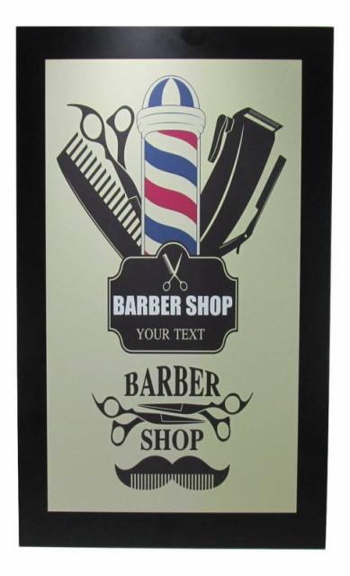 インテリアボード BARBER SHOP レトロデザイン 店...