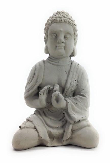【お取り寄せ】置物 仏像 静かに瞑想する小さな仏...