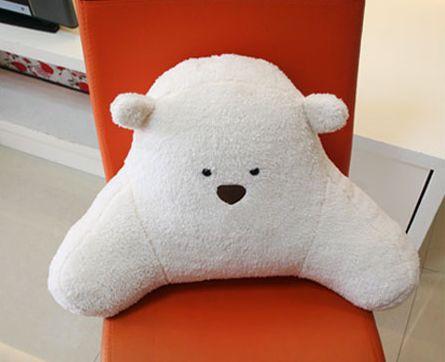 【お取り寄せ】クッション 腰当て 手を広げたクマ...