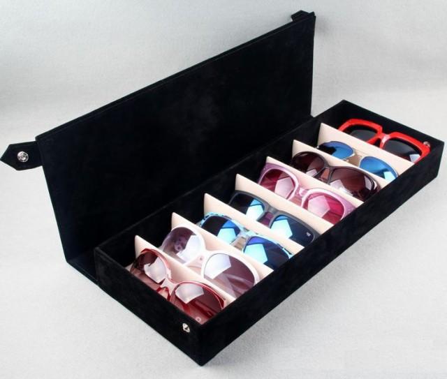 【お取り寄せ】メガネ収納ボックス シンプル 無地...