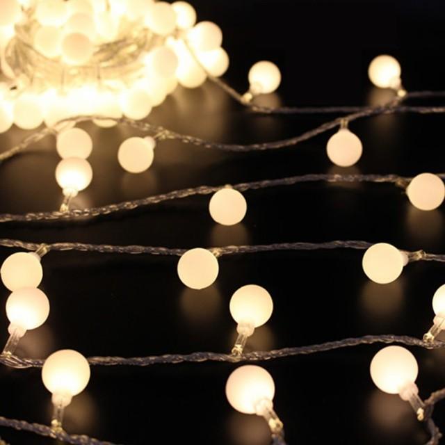 【お取り寄せ】デコレーションライト LED 電球 丸...