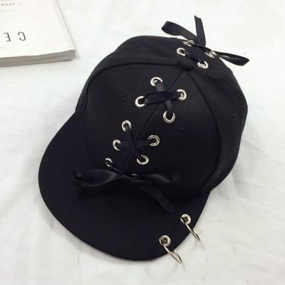 【お取り寄せ】キャップ 帽子 編み込みリボン リ...