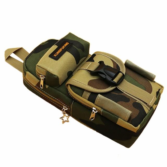 【お取り寄せ】ペンケース バッグ型 カモフラージ...