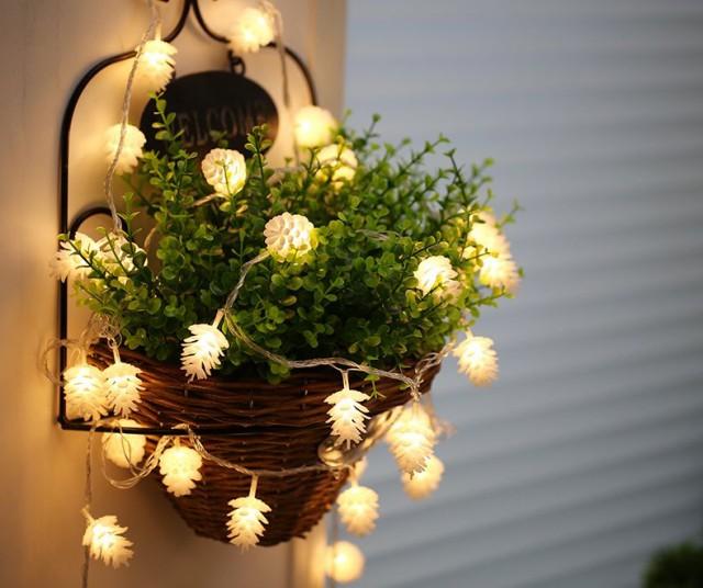 【お取り寄せ】デコレーションライト LED 電球 松...