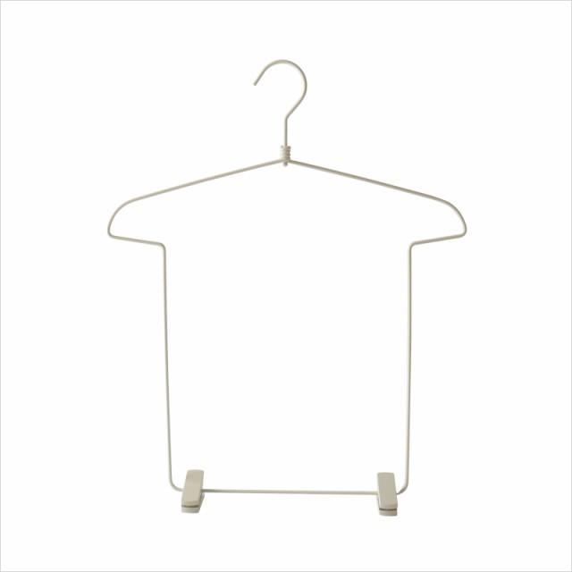 ハンガー Tシャツ型 上下収納 大人用 シンプル 3...