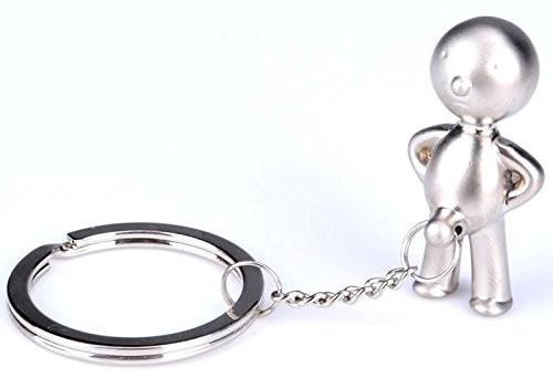 キーホルダー 小便小僧 人型 2個セット