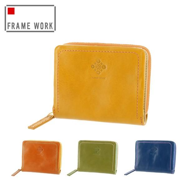 16555585daf2 送料無料/フレームワーク/FRAME WORK/二つ折り財布/折財布/アミュレット ...