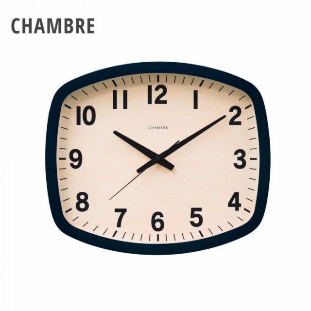 CHAMBRE R-SQUARE BLACK 電波時計 BLACK CH-028BK...