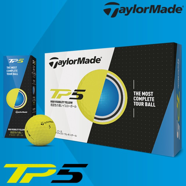 Taylor Made Golf テーラーメイドゴルフ ゴルフボ...