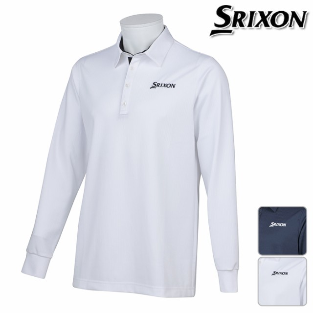 ◆SRIXON スリクソン by デサント 長袖 ポロシャ...